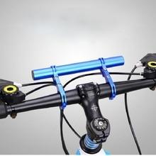 Bike Rack Multi-Function Extension Extended Stopwatch Lamp Bracket Folder Double-Pole Aluminum Flashlight