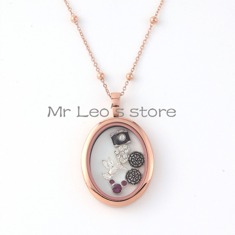 silver memoirs rose sterling lockets pendant plated heart locket gold