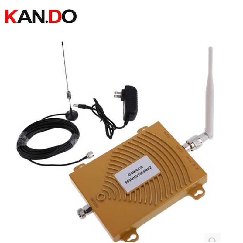 Dual Band Repeater GSM 900Mhz Booster+DCS 1800mhz Repeater Dual Band DCS Booster Kits W/ Cable &antennas,dual Band GSM Booster