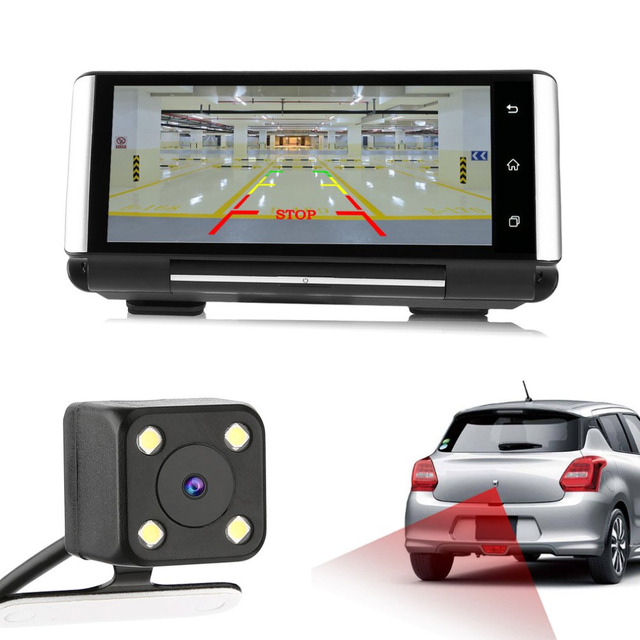 Full Hd 1080p 7 Inch Ips Touch Screen Car Dvr Smart Car Rear View