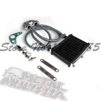 Colour Oil Cooler Cooling Radiator For 50cc 70cc 90cc 110cc 125cc Horizontal Engine Dirt Bike/Pit Bike/Monkey Bike/ATV