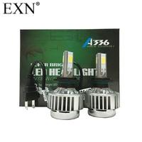 2015 Super Bright LED Headlight Kits H7 With 3 LED Chips 12V 24V DC 36W 3300LM