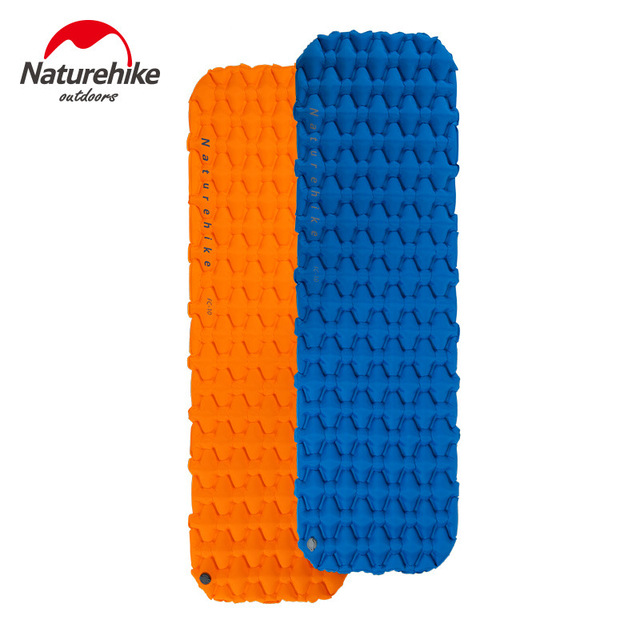 Naturehike Portable Outdoor Camping Hiking Single double Thicken Moisture-proof Inflatable Sleeping Mattress Mat Pad bed bag 1