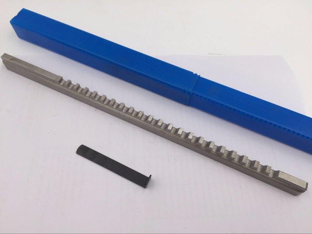 Ferramentas de Corte para Cnc Hss com Calços Push-tipo Keyway Broach Métrica Tamanhos Chaveta Cnc Router 24mm f