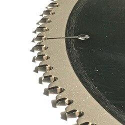 Envío gratis de 1 hoja de sierra TCT de calidad profesional 12 (300) * 30 * 100z/120z para NF metal como corte de perfil de cobre de aluminio