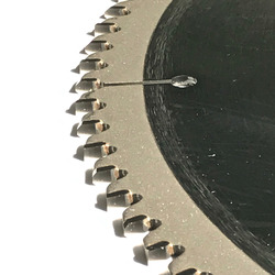 GRATIS VERZENDING VAN 1PC professionele kwaliteit TCT zaagblad 12 (300) * 30 * 100z/120z voor NF metalen als aluminium koper profiel snijden