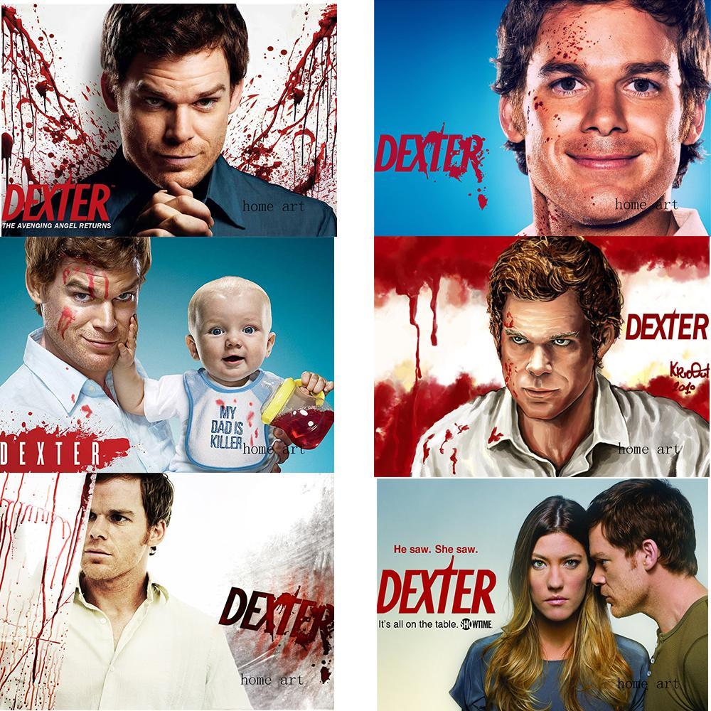 Dexter Poster Film Gambar Stiker Dinding Bening Dekorasi Rumah Cetakan  Kualitas Bagus Kertas Lapis Putih Merek Seni Rumah|Wall Stickers| -  AliExpress