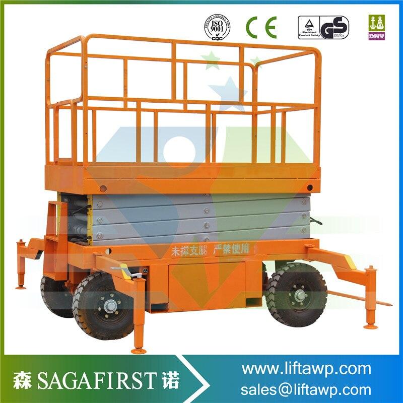 8m Electric High Quality Electric Scissor Lift Machine