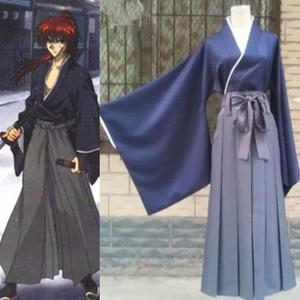 Image 2 - Rurouni Kenshin cellat Himura Kenshin Kimono Kendo Suit Cosplay kostüm