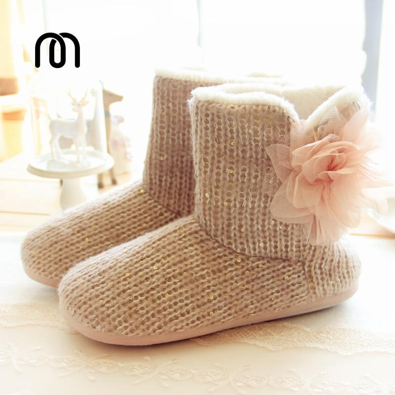 Botas Fashional 2016 De Calientes Zapatos Caseros Algodón Piso Punto A Nuevo Casa xwqCSv7