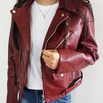 Women-Short-PU-Leather-Jacket-4