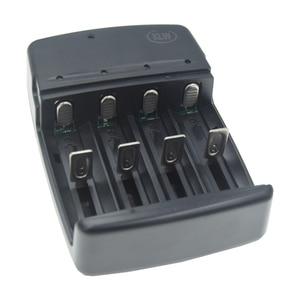 Image 3 - 4 חריצים חכם USB סוללה מטען נטענת 1.6V NI ZN AA AAA 3.2V LiFePo4 32650 18650 14500 סוללה סוללה מטען