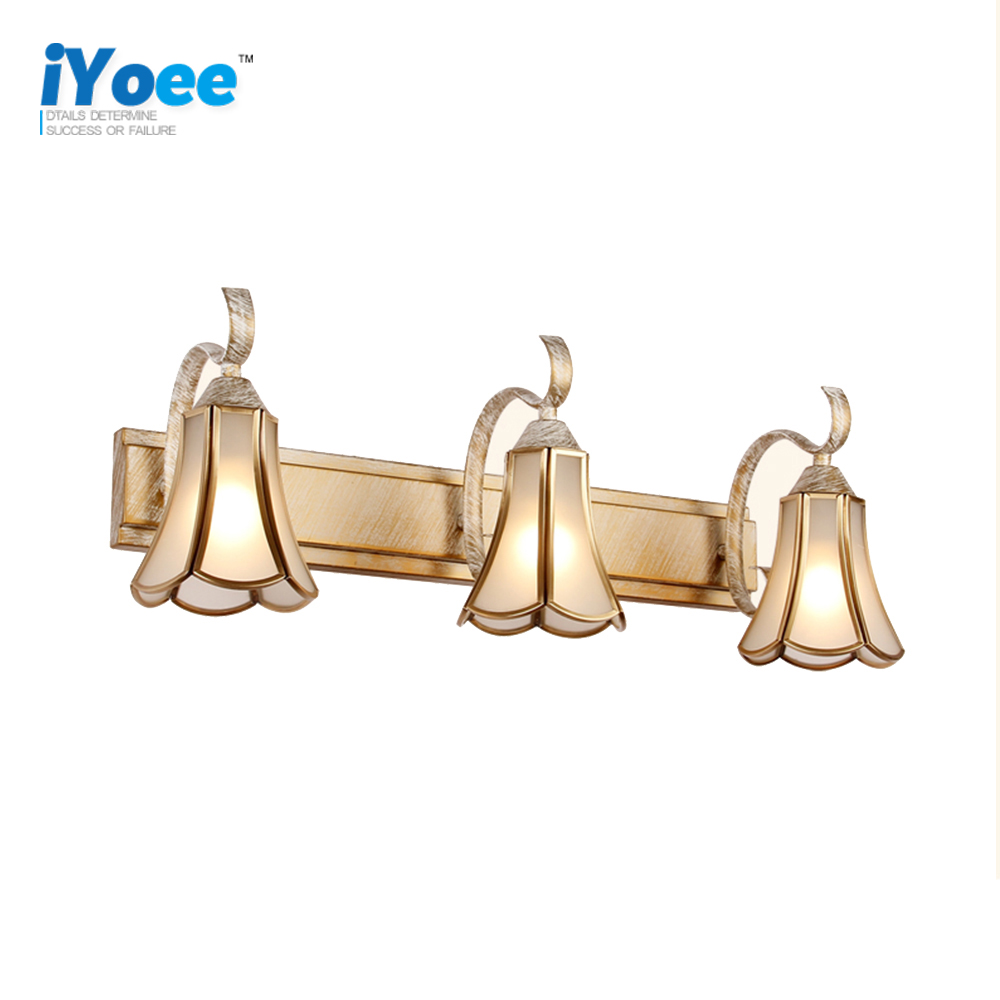 Bathroom Mirror Wall Lamp Classic led Picture Light Salon Clothing Store Mirror Wall Sconce Light Fixture Bathroom Lamp Makeup antique led mirror lamp wall lamp toilet bathroom cabinet antifog light led retro makeup mirrorlamp fitting modeling wall sconce