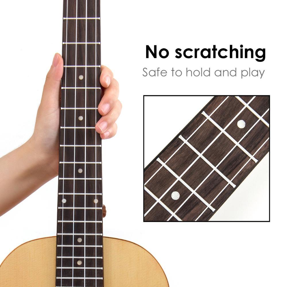 Kmise baryton ukulélé épicéa massif 30 pouces Ukelele Uke 4 cordes Hawaii guitare - 2
