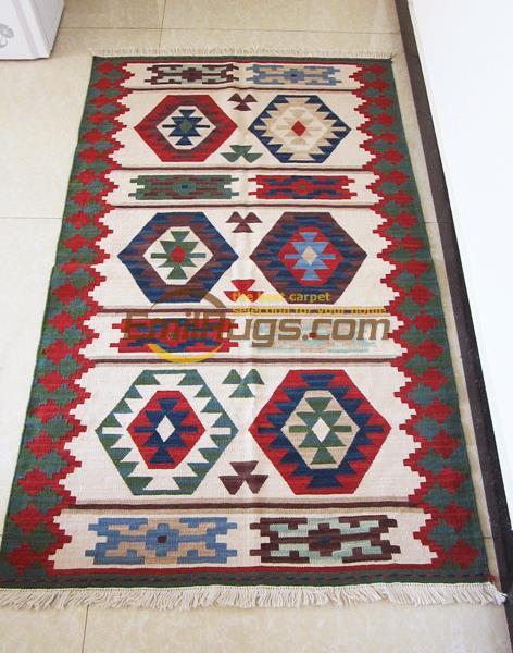 KILIM pure laine tissé à la main tapis turc étranger vent couloir tapis tapis lit couverture tapisseries gc149-10