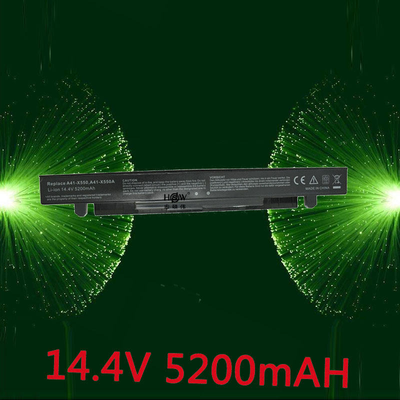 цена на HSW Laptop Battery for ASUS A41-X550 A41-X550A A450 A550 F450 F550 F552 K450 K550 P450 P550 R409 R510 X450 X452C X550