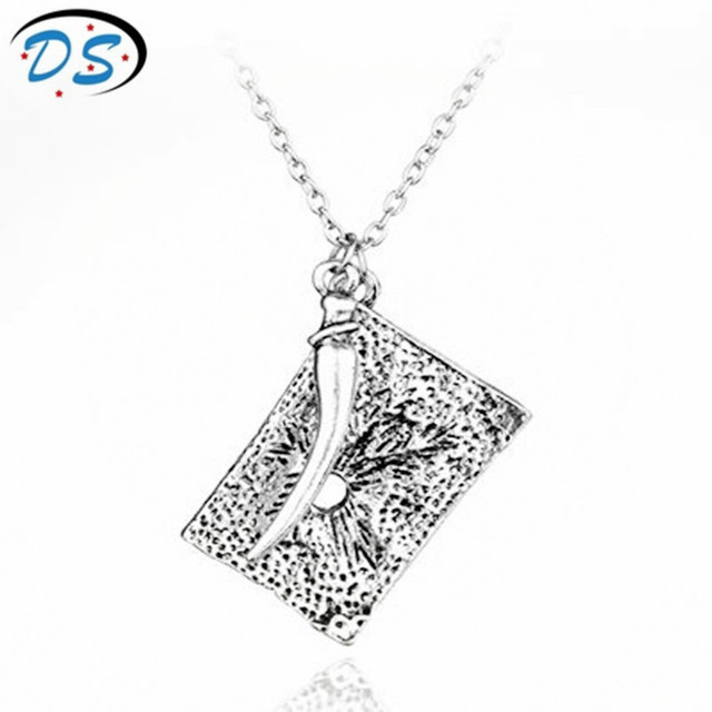 Movie jewelry h p tom riddle diary necklace diary snake tooth movie jewelry h p tom riddle diary necklace diary snake tooth pendant necklace charms pendantsnecklace aloadofball Image collections