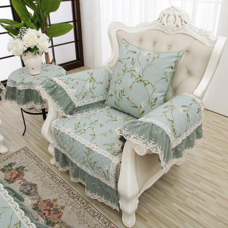 Admirable Us 16 91 11 Off Korean Style Comfortable Non Slip Anti Wrinkle Cotton Linen Lace Sofa Cover Modern House Decoration Four Seasons Available In Sofa Onthecornerstone Fun Painted Chair Ideas Images Onthecornerstoneorg
