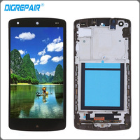For LG Google Nexus 5 D820 D821 LCD Display Touch Screen Digitizer With Bezel Frame Full