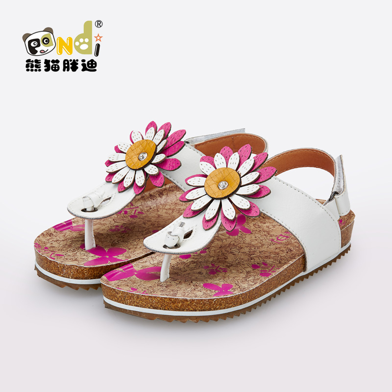 a46863c60eb Girls shoes 2015 casual sandals female child sandals baby birkenstock shoes-in  Sandals from Mother   Kids on Aliexpress.com
