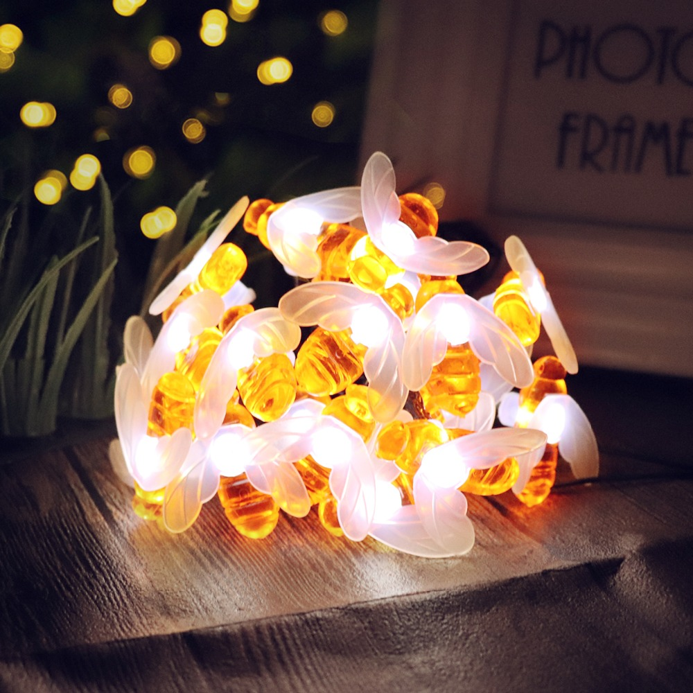 Imported From Abroad 6m 20 Led Clear Globe Indoor Outdoor Decoration Plastic Bulb Festoon Party Garden Yard Fence Lamp Holiday String Lights Access Control Kits Access Control