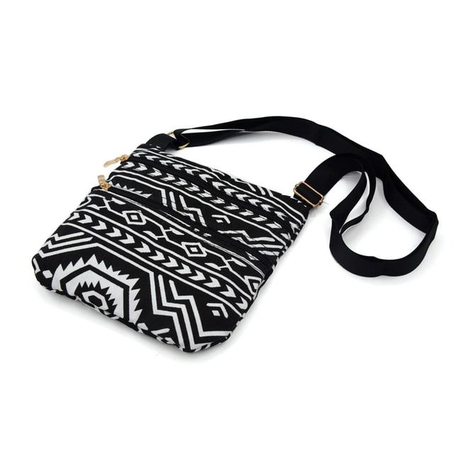 Small Sling Bag Crossbody Messenger Bag For Women Design Phone Bag Female Casual Canvas Shoulder Bag 5