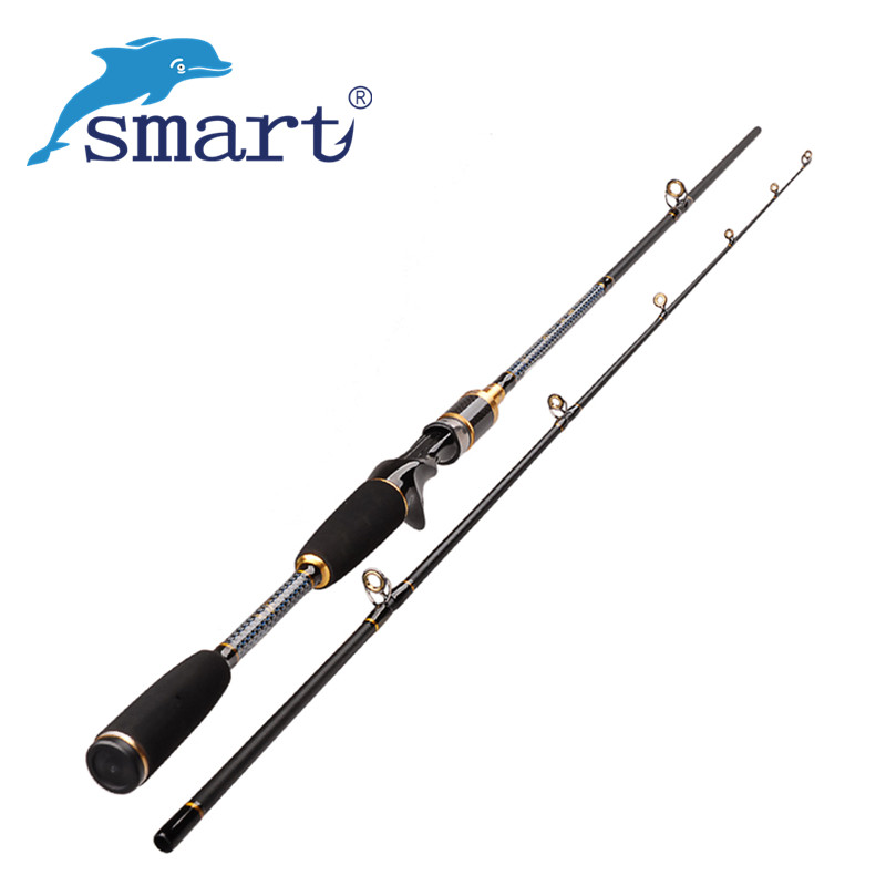 Smart 2Section Fishing Rods 1.8m Carbon M Power Varas De Pesca Fish Stand Pole Canne De Pesca Spinning Casting Rod new baitcsting fishing rods carbon m ml mh1 8m 2 1m 2 4m varas de pesca fishing pole for carp fish peche