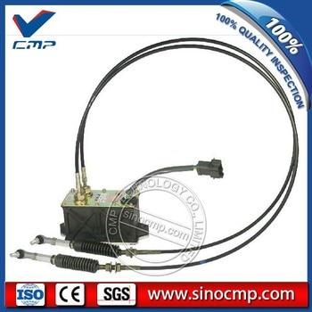 E312C 速度ガス 247-5207 2475207 ダブルケーブル、 7 ピンスロットルモータ、 6 月保証