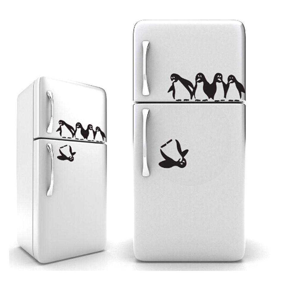 compare prices on walle sticker online shopping buy low price lucu penguin dapur kulkas stiker diy kulkas decals ruang makan dapur dekorasi wall stiker home decor