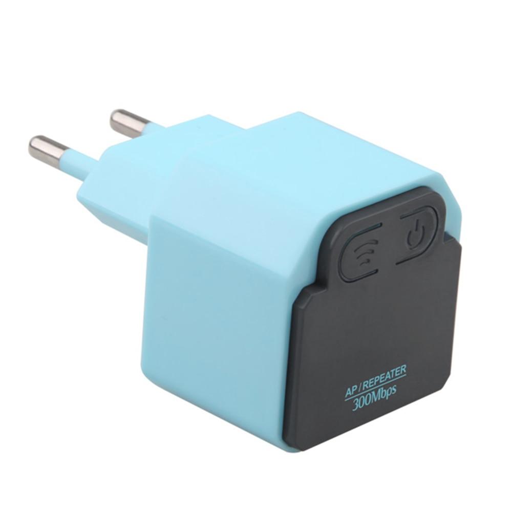 WiFi 300Mbps Wireless WiFi Repeater Signal Booster Repeater 2.4Ghz AP Router Wireless Wi-fi Signal Amplifier US EU Plug