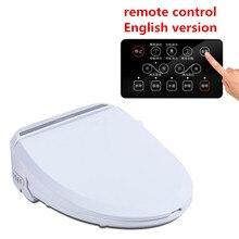 Smart Heated Toilet Seat With Remote Control Bidet Toilet Seat Hinge WC Sitz Intelligent Water Closet