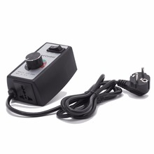 Hon&Guan Variable 15A Fan Speed Controller 220V for Hydroponics Inline Duct Fan Exhaust with wire with EU plug