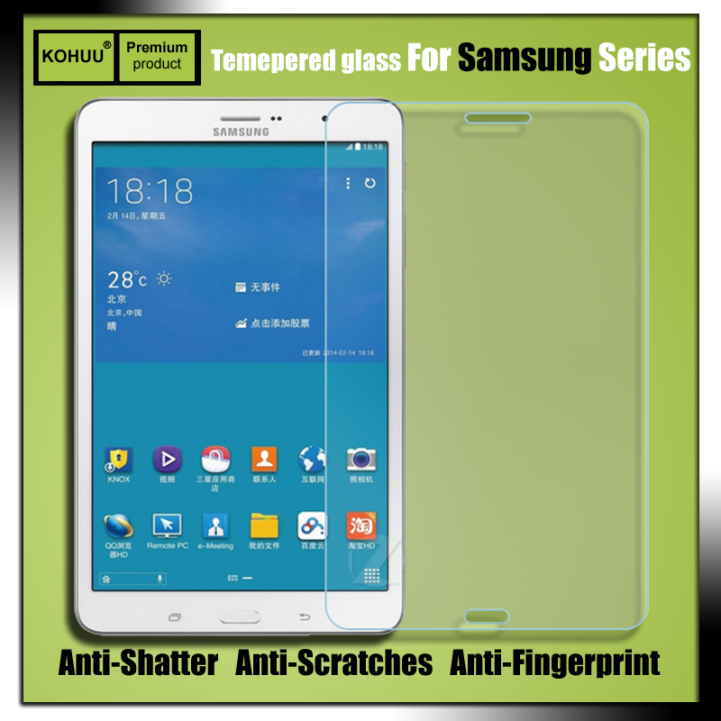 Premium Explosion Proof 2.5D 9H HD Tempered Glass Screen Protector Film For Samsung Galaxy Tab Pro T321 T320 T325 8.4 SM T321|Phone Screen Protectors|Cellphones & Telecommunications - title=