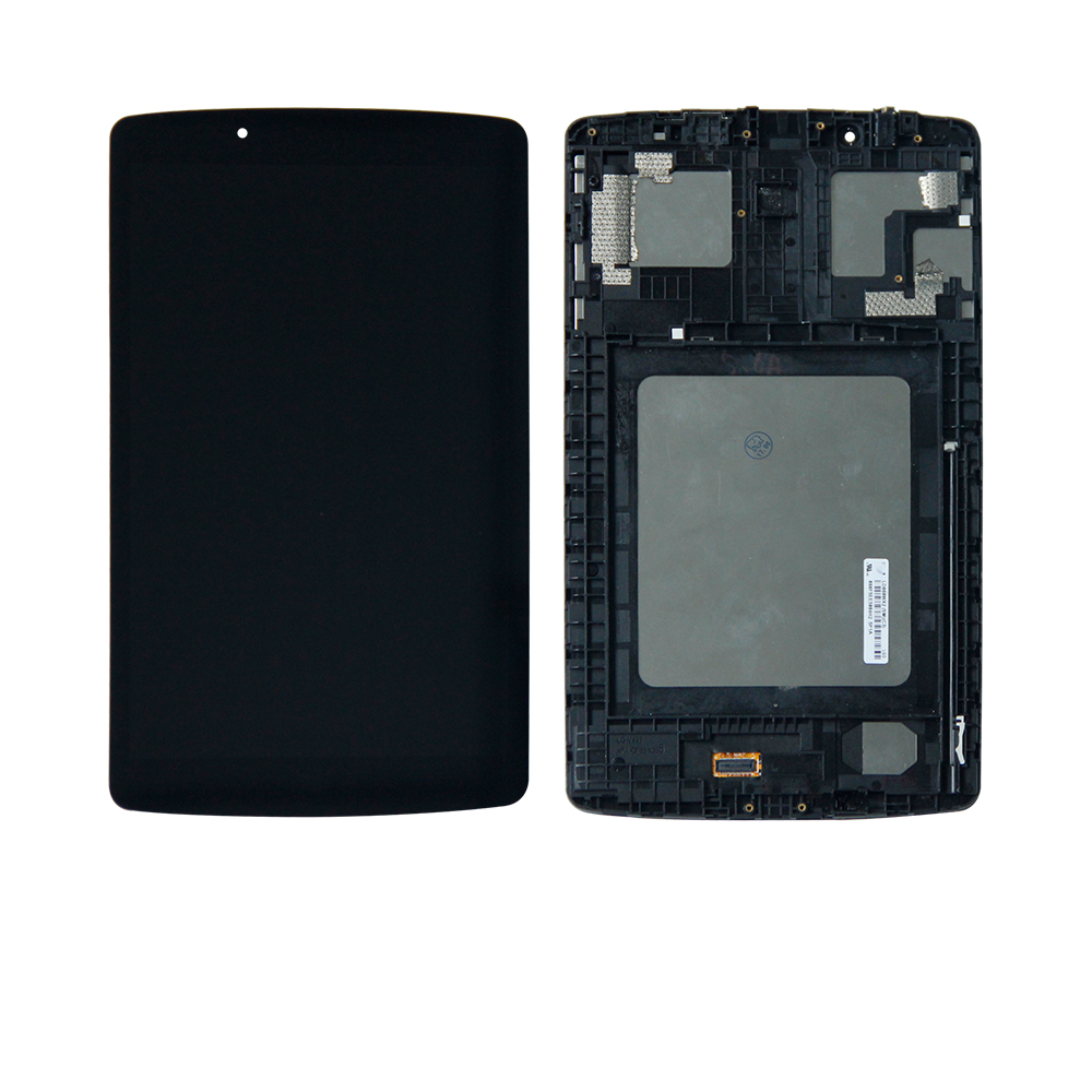 цена на For LG G Pad 8.0 LG-V495 UK495 Touch Screen Digitizer +Lcd Display Assembly Frame Replacement Free Shipping