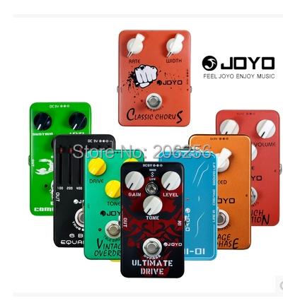 2015 guitar pedals joyo effect wholesale cheap any 4pcs bulk jf 01 02 03 to jf 39 overdrive. Black Bedroom Furniture Sets. Home Design Ideas