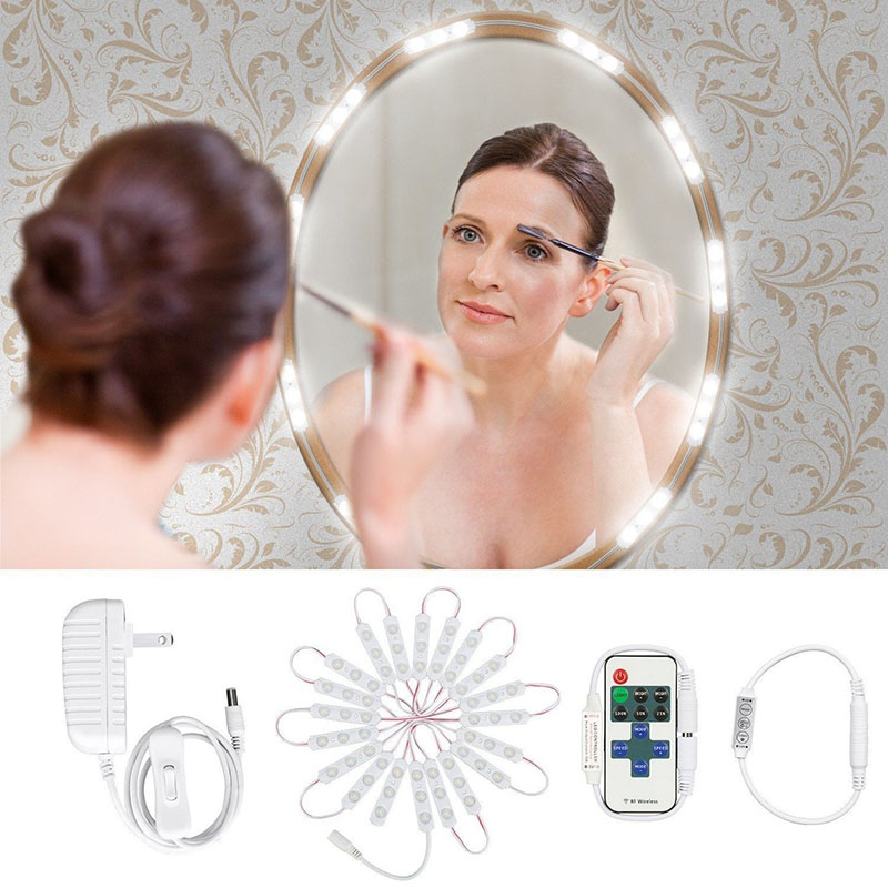 Led lamps Hollywood makeup mirror lamp dressing module light dimming 60LED makeup mirror lamp indoor dressing table mirror light