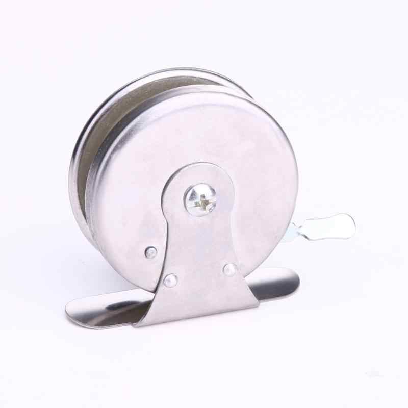 Mini canne à pêche ligne moulinet cannes Baitcasting acier léger Okuma Molinete moulinets de pêche à la mouche Carretilha outil moulinet de pêche sur glace