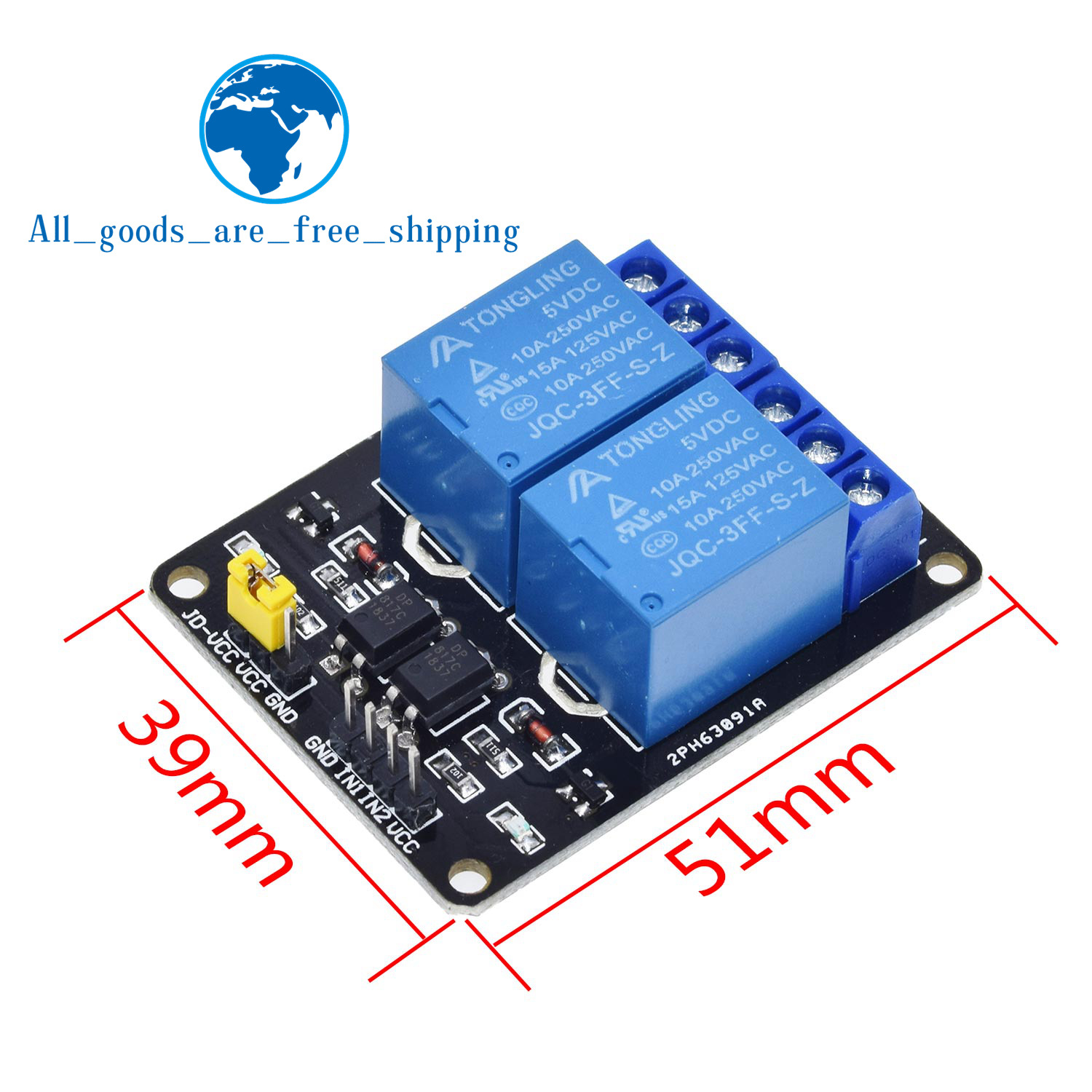 TZT 1pcs 5v 12v 1 2 4 6 8 channel relay module with optocoupler. Relay Output 1 2 4 6 8 way relay module for arduino In stock 6