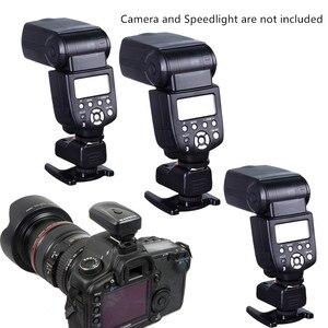 Image 5 - New Wireless Remote Speedlite Flash Trigger/Synchronizer Flash Radio Transmitter for Canon Nikon Olympus DSLR Camera