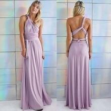 Платье женское длинное с открытой спиной пикантная пляжная вечерние