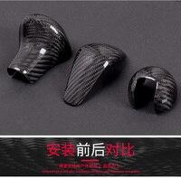 Fit for audi A3 A4L A5 A6L A7Q5S6 A7S7Q7S3 carbon fiber shift knob gear shift paddle lever gear head handball