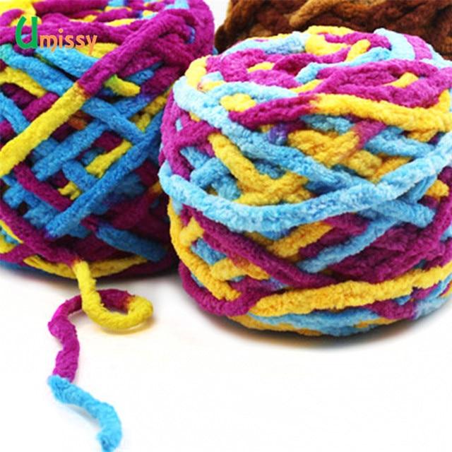 Tienda Online 4 piezas colorido grueso hilo para tejer sombrero ...