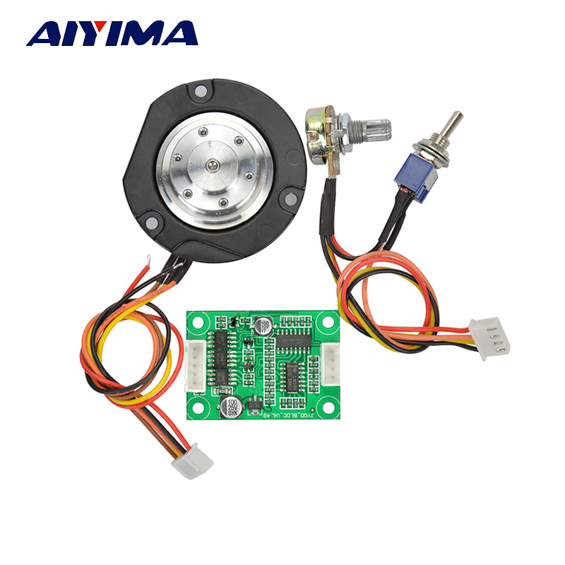 все цены на AIYIMA 1Set DC12V Brushless Motor Controller Motor Driver Board For Hard Drive Motor / Pump Free Shipping
