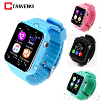 V7K Kids Children Smart Watch Phone GPS LBS AGPS Voice Call GPS Tracker Waterproof Baby Children
