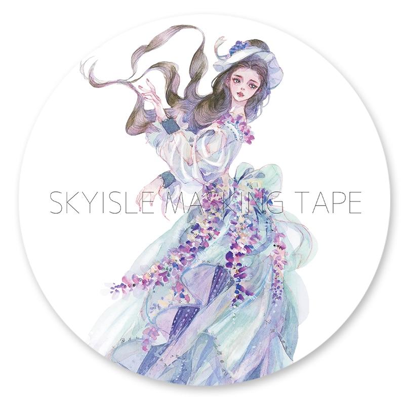 все цены на like a dream DIY Japanese Washi Tape Paper Decorative Adhesive Tape Masking Tape Scrapbook Stickers онлайн