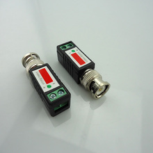 1 Pair Cctv Twisted Bnc Passive Video Balun Transceiver Bnc Male Coax Cat5 Camera Utp Cable Coaxial Adapter For Cctv Camera