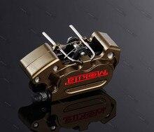 Free Shipping Motorcycle Brake Calipers 64mm Hole 24mm*4 Pumb For Ducati Honda Yamaha Kawasaki Modify