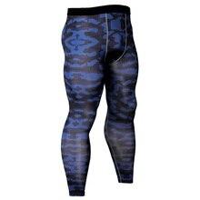 Компрессионные Полиэстеровые Суперэластичные обтягивающие штаны для мужчин тренажеры фитнес-Леггинсы мужские бегуны спортивные штаны