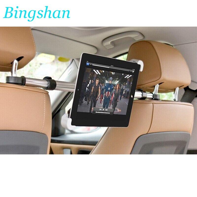 Tablet PC soporte para coche reposacabezas soporte para aluminio tablets soporte para ipad sumsung xiaomi huawei