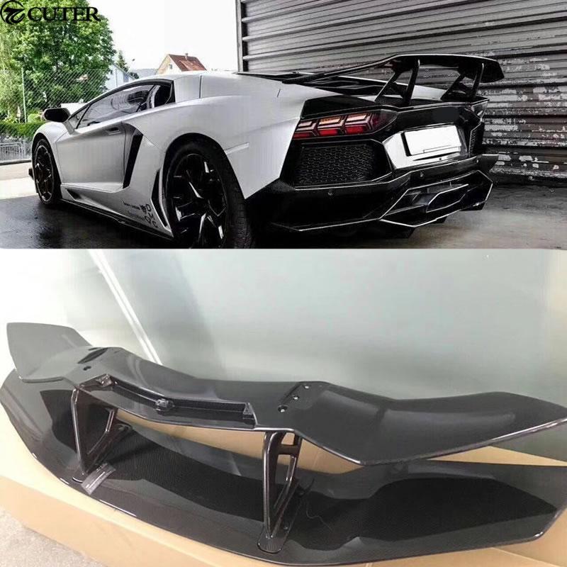 Lp700 Carbon Fiber Rear Roof Spoiler Wing For Lamborghini